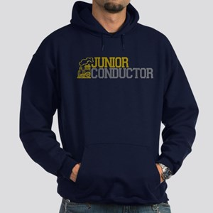 Junior Train Conductor Hoodie (dark)