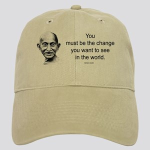 Gandhi - Be the Change Cap