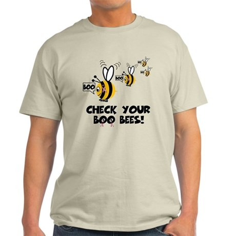 Funny spoof slogan boobies Light T-Shirt