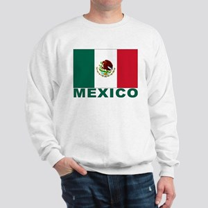 Mexico Flag Sweatshirt