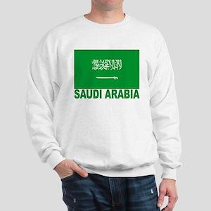 Saudi Arabia Flag Sweatshirt