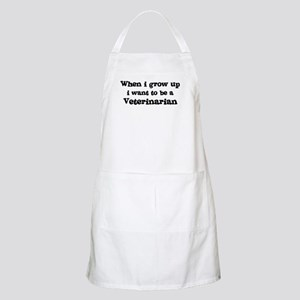 Be A Veterinarian BBQ Apron