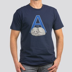 A Is For Arctic Fox Men's Fitted T-Shirt