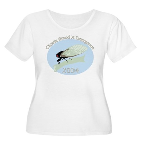 2004 Cicadas Women's Plus Size Scoop Neck T-Shirt
