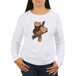 Red Pandas Women's Long Sleeve T-Shirt