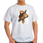 Red Pandas Light T-Shirt