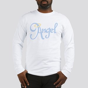 Angel Text Long Sleeve T-Shirt