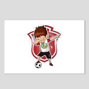 Football Dab Peru Peruvia Postcards (Package of 8)