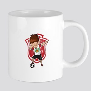 Football Dab Peru Peruvian Footballer Dabbing Mugs