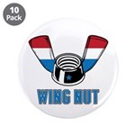 "Wing Nut 3.5"" Button (10 pack)"