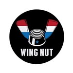 "Wing Nut 3.5"" Button"