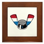 Wing Nut Framed Tile