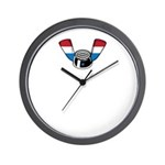 Wing Nut Wall Clock