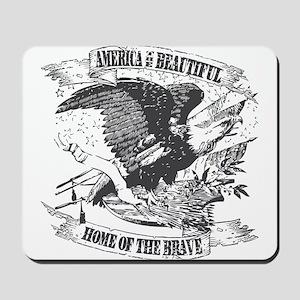 America the Beautiful Mousepad