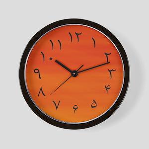 Persian/Urdu Numbers (Fahrenheit) Wall Clock