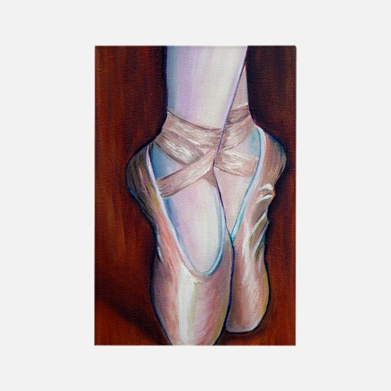 Ballet Shoes Rectangle Magnet