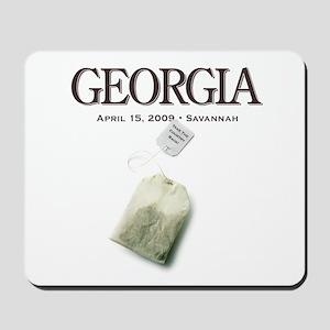 Tax Day '09 Protest Savannah Mousepad