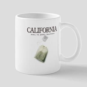 Tax Day '09 Protest San Diego Mug