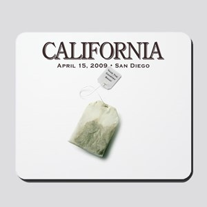 Tax Day '09 Protest San Diego Mousepad