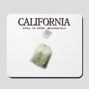 Tax Day '09 Protest Bakersfield Mousepad