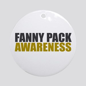 Fanny Pack Awareness Ornament (Round)