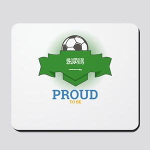 Football Saudis Saudi Arabia Soccer Team Mousepad