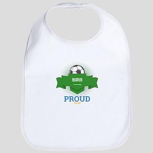 Football Saudis Saudi Arabia Soccer Team Baby Bib