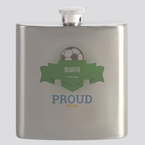 Football Saudis Saudi Arabia Soccer Team Spo Flask