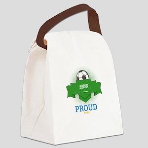 Football Saudis Saudi Arabia Socc Canvas Lunch Bag