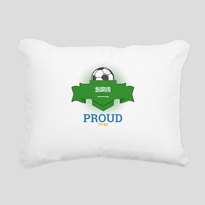 Football Saudis Saudi Ar Rectangular Canvas Pillow