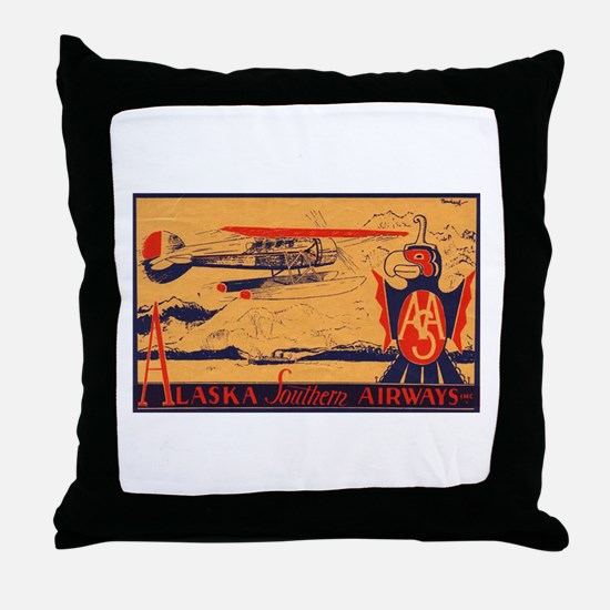 Alaska Southern Throw Pillow