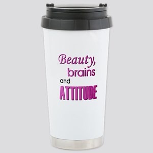 Beauty Brains and Attitude Stainless Steel Travel