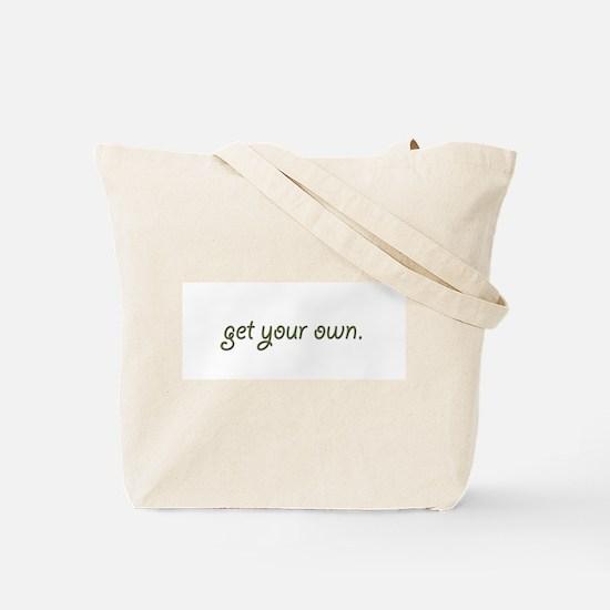 Bald Girlfriend Tote Bag