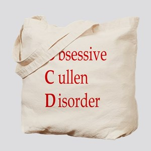 Obsessive Cullen Disorder Tote Bag