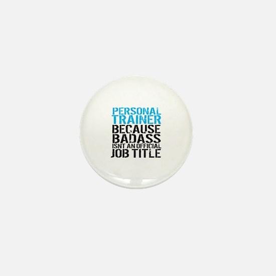Cute Personal trainer Mini Button