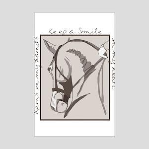Horse Head Mini Poster Print