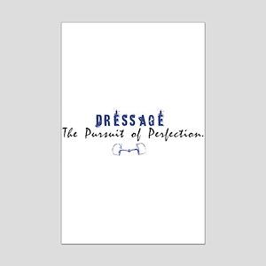 Dressage Rider Mini Poster Print