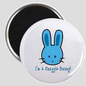 Blue Snuggle Bunny Magnet
