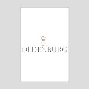 Oldenburg Horse Mini Poster Print