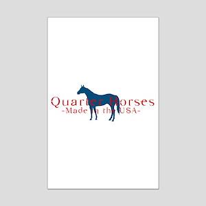 Quarter Horse Mini Poster Print