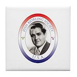 JBS-USA logo Tile Coaster