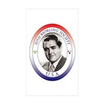JBS-USA logo Sticker (Rectangle 50 pk)