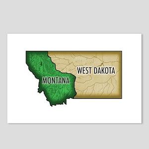West Dakota Postcards (Pkg. of 8)