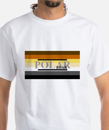 POLAR BEAR FLAG White T-Shirt