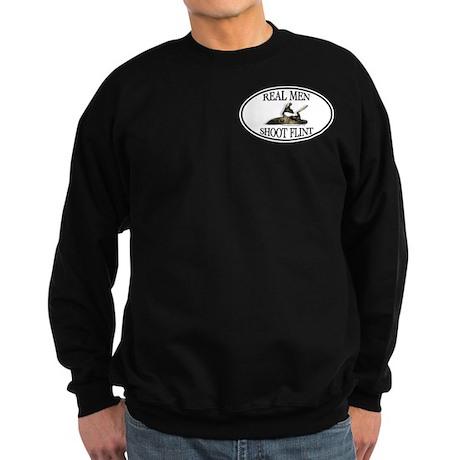 Real Men Shoot Flint Sweatshirt (dark)