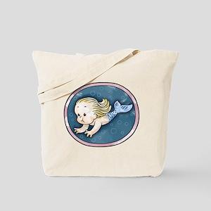 Mermaid -blonde Tote Bag