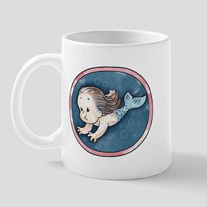 Mermaid -brunette Mug