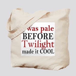 I Was Pale Before Tote Bag