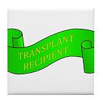 Transplant Recipient Tile Coaster