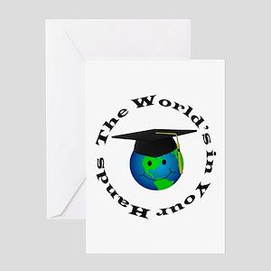 Graduation World Greeting Card